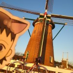 オランダ風車に行ってきたよと寒いのでカフェ巡り中断のおしらせ