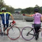 【雨オワタ】パレスサイクリングに行って走ってきた【皇居】